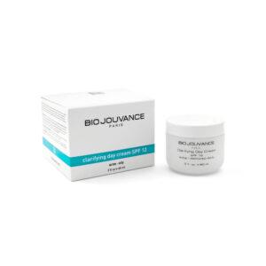 Bio Jouvance Clarifying Day Cream SPF 12 2oz   Life Rx Wellness